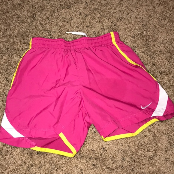 Nike Pants - Nike dry tempo running shorts size small in kids